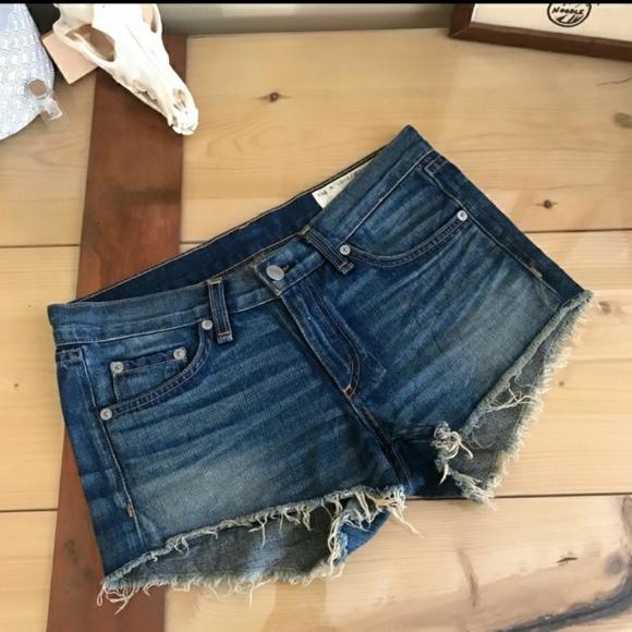 Rag & Bone Jean Shorts Size 23